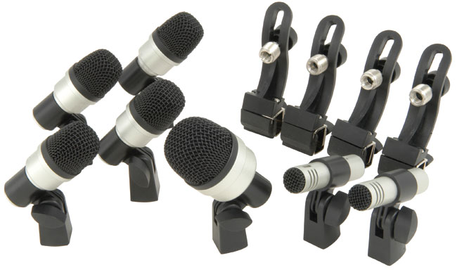 DMK73 Drum Microphone Kit – 7PCs
